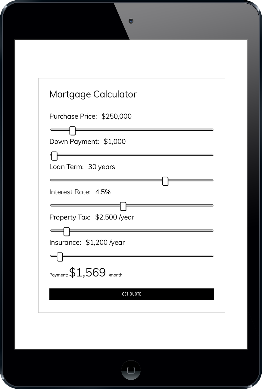 WPrequal Mortgage Calculator